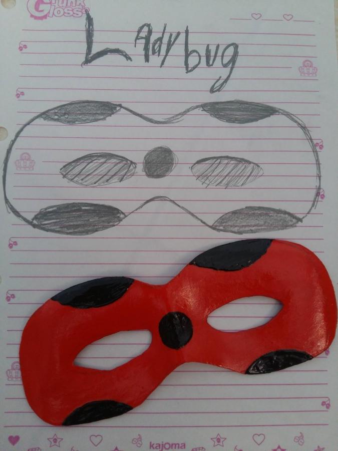 Как сделать маску Леди Баг и Супер-Кота из фоамирана