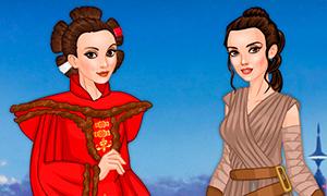 Игра для девочек: Звездные Войны и парикмахерская Дарта Вейдера