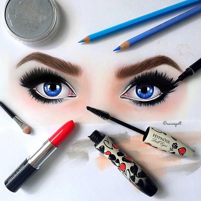 Красивые рисунки девушек от Натальи Васильевой