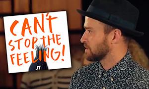 Мультфильм Тролли: Первая песня Джастина Тимберлейка Can't Stop The Feeling!