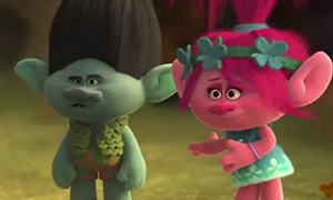 Первый взгляд на троллей в мультфильме