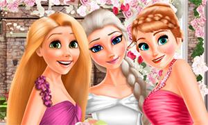 Игра: Дисней Принцессы на свадьбе Эльзы