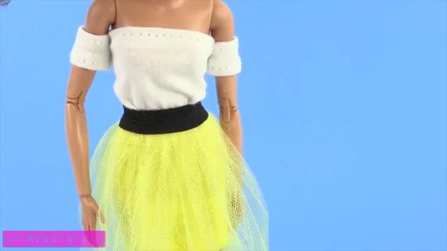 Как сделать кукле платье фото 257