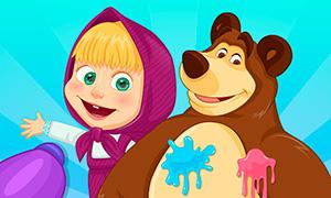Игра Маша и Медведь: Летнее веселье