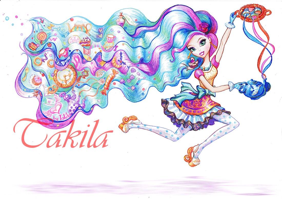 Красивые рисунки героинь Эвер Афтер Хай