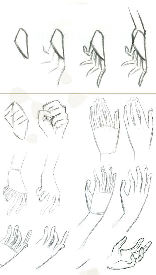 Аниме картинки рук