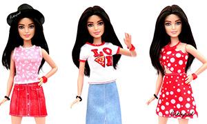 Новые наряды Barbie Fashionistas