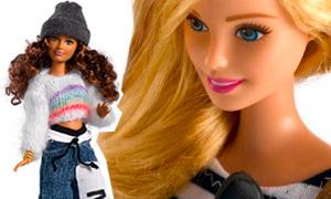 Барби в роли испанской модели