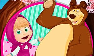 Игра: Летние каникулы Маши и Медведя