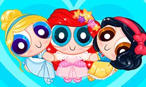 Игра для девочек: Крутые Девчонки - Дисней Принцессы