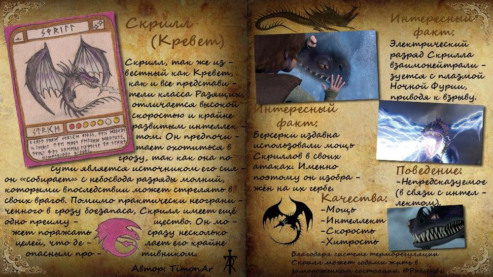 Фото книги драконов из как приручить дракона