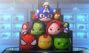 Супер герои Марвел скоро в Tsum Tsum