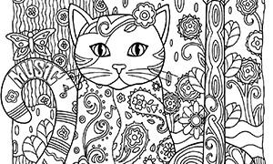 Раскраски для взрослых: Новые картинки