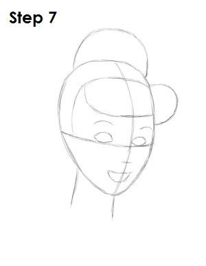 Урок рисования: Как нарисовать Золушку в платье