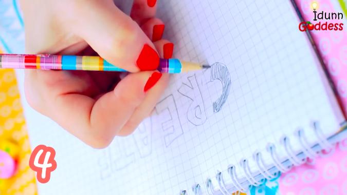 Как превратить 10-ть школьных принадлежностей в очень интересные