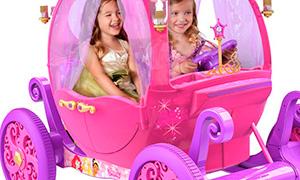 Электромобиль карета для девочек - наш ответ мальчишкам