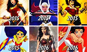 Как менялась Чудо Женщина за последние 75 лет