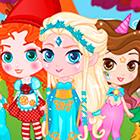 Бумажная кукла принцессы Жасмин - раскраска - YouLoveIt.ru