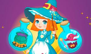 Игра для девочек: Школа волшебниц и чародеек