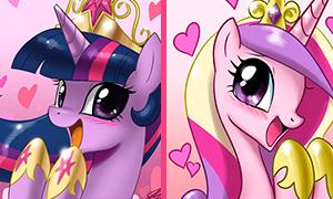 Битва пони принцесс: Кто лучшая принцесса?
