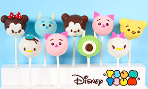 Как приготовить кейк-попсы в виде героев Disney Tsum Tsum