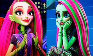 Добро Пожаловать в Школу Монстров: Анимации с Венерой