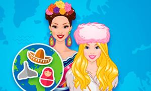 Игра для девочек: Мода всего мира 2