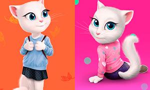 Картинки говорящей кошки Анжелы из Instagram
