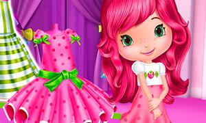 Игра для девочек: Шоппинг с Шарлоттой Земляничкой
