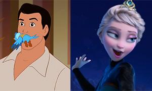 Смешные кадры из мультфильмов