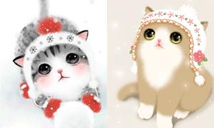 Гифки с няшными котятами