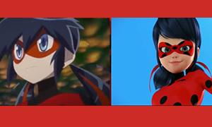 Видео: Сравнение PV аниме версии Леди Баг и финальной 3D версии