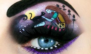 Фантастический макияж на Хэллоуин