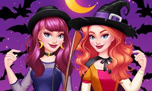 Игра для девочек: Ведьмочки тогда и сейчас