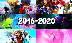Все новые мультфильмы от создателей Леди Баг до 2020 года