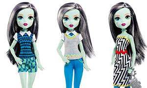 Монстер Хай: Новая кукла - много образов Фрэнки Штейн