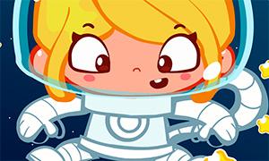 Игра для девочек: Безделье в космосе