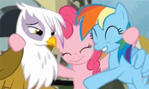 Дружба это Чудо: Обнимашки с пони в гифках