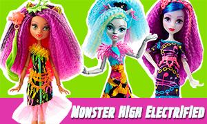Новые куклы Монстер Хай: Monster High Electrified