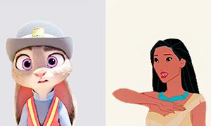 Аватарки с героинями Дисней