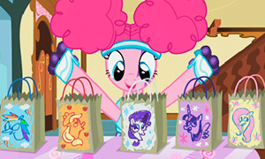 Портреты пони по версии Пинки Пай