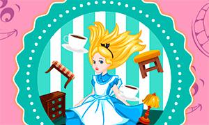 Игра для девочек: Алиса принцесса Страны Чудес