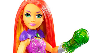 DC Super Hero Girls: Кукла Старфайер - Starfire