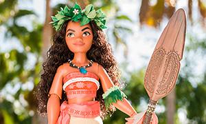 Лимитированная кукла Моаны от Дисней
