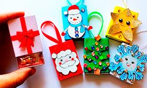 Как оригинально упаковать большие и маленькие новогодние подарки
