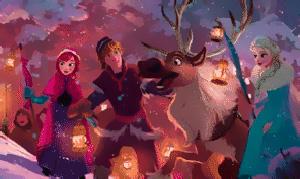 Холодное Сердце 2017: Первый концепт арт к новому короткометражному мультфильму