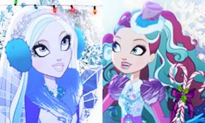 Заколдованная Зима: Новогодние аватарки с героинями Эвер Афтер