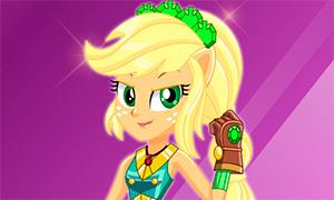 Игра Девочки из Эквестрии: Эпплджек и кристальный бал