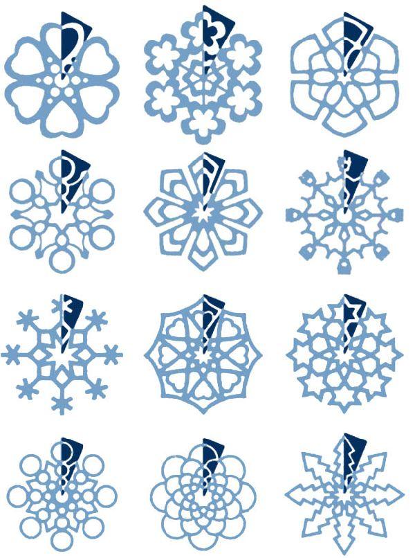 Схема снежинок своими руками 397