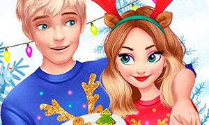 Игра: Волшебные зимние праздники Эльзы и Джека